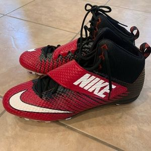 Nike Strike Pro football cleats shoes size 16 NEW